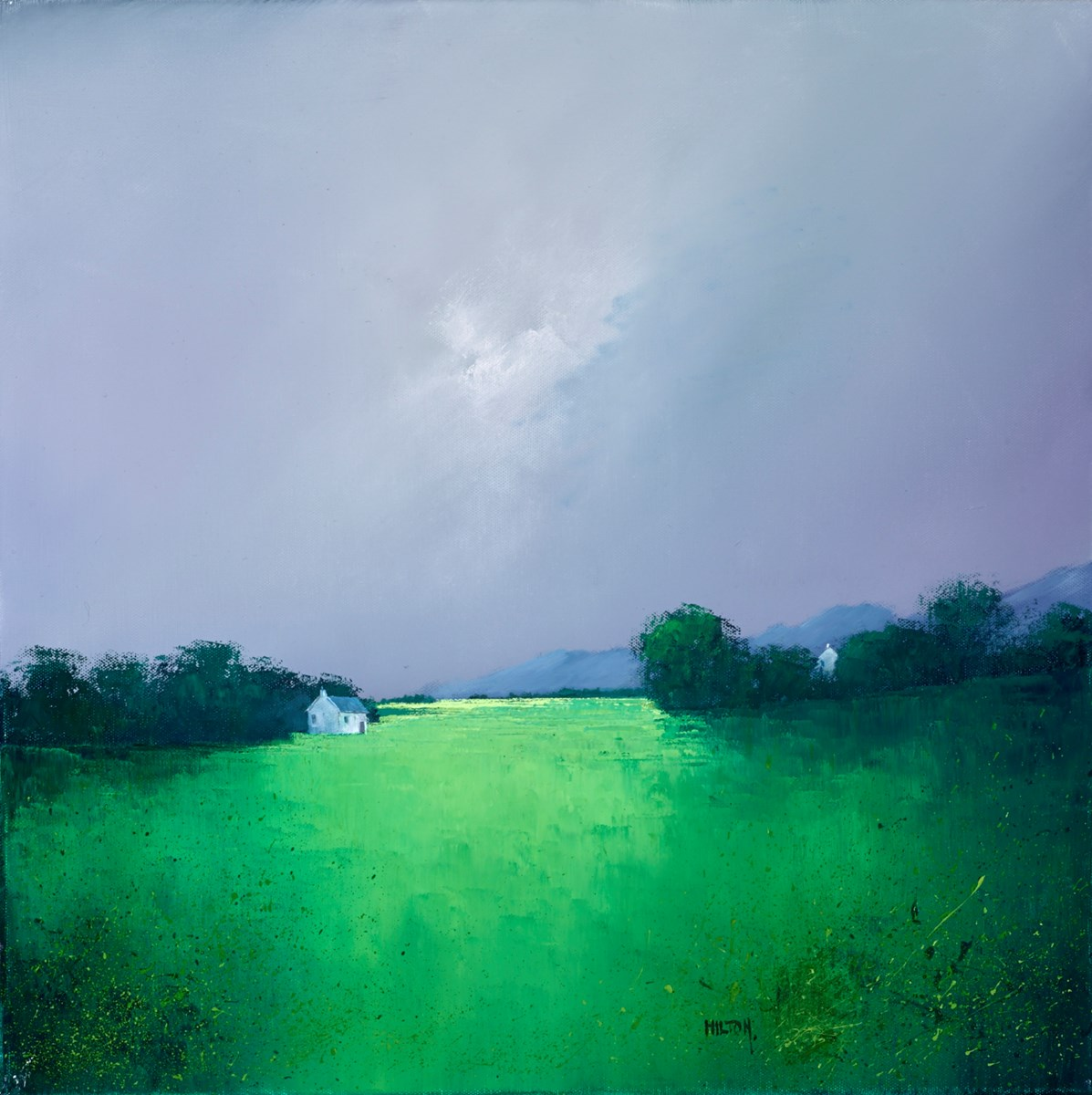 My Favourite Greens by barry hilton -  sized 20x20 inches. Available from Whitewall Galleries